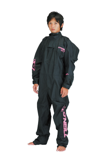 BOOST LIGHT DRYSUITS ブラック/Kピンク