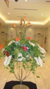 デパートのお花