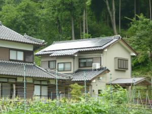 高浜町での太陽光設置全景