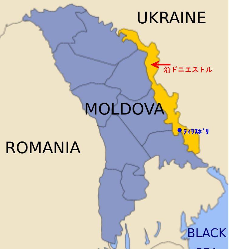 モルドバ地図2