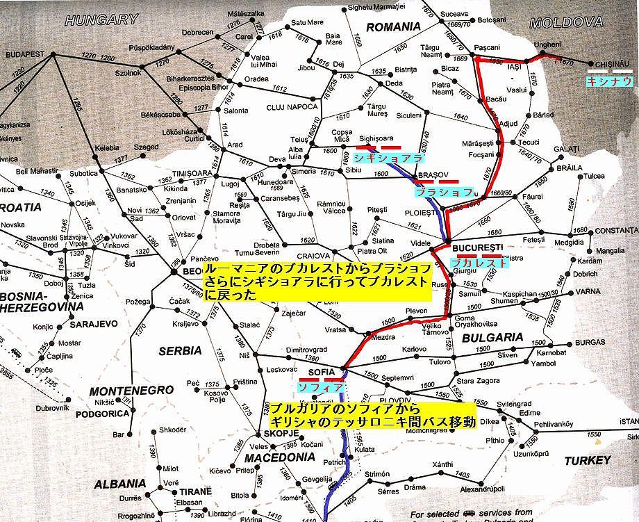 ルーマニア地図2