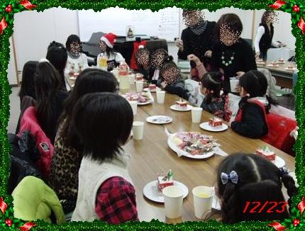 1223クリスマス会2