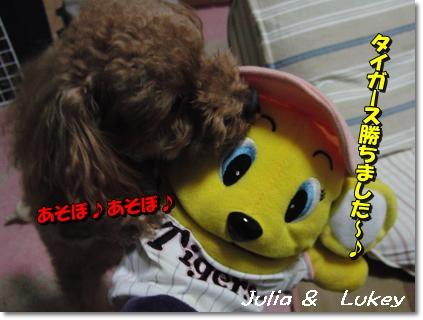 0414ジュリ&ラッキー