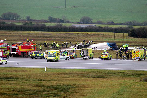 Cork Airport Crash