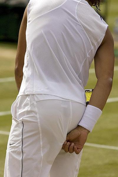Rafael Nadal Wedgie