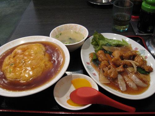 酢豚定食B