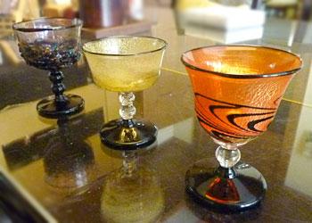 加藤さんの酒杯