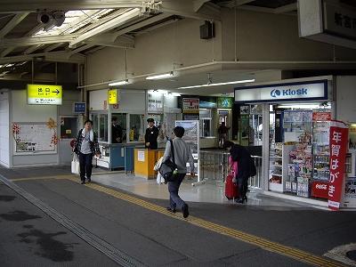 新宮駅1番線20091114