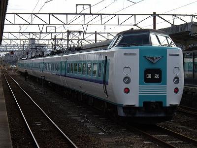新宮駅回送20091114