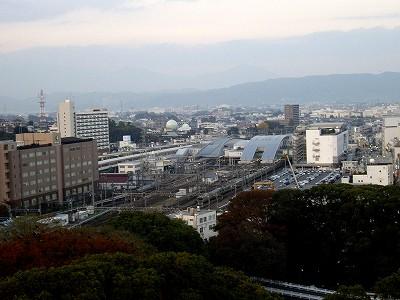 小田原駅方向20091121