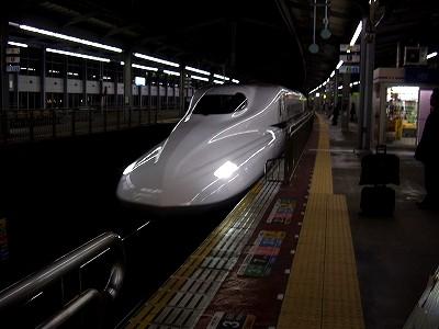 N700のぞみ・小倉20091227