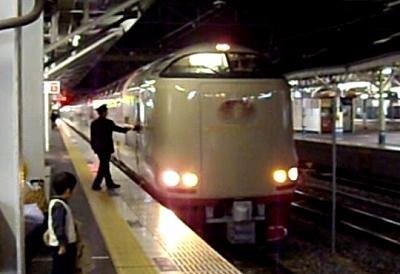 サンライズ出雲・岡山20091227
