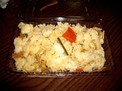 山菜おこわ20100116