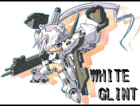 ホワイトグリント娘完成のコピー