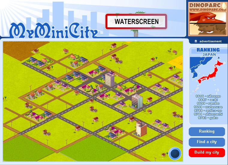 My Mini City 開始