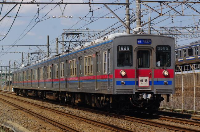 2012年3月26日 風景 3500型