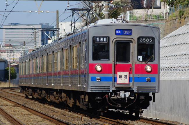 2012年3月27日 京成線 3500型 検見川