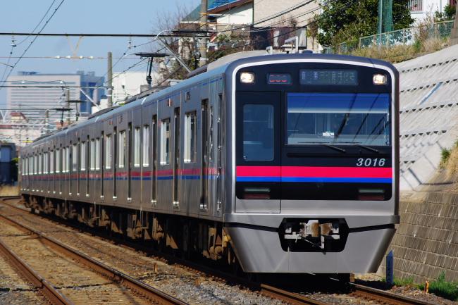 2012年3月27日 京成線 新3000型 検見川