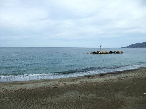 マガジアのビーチ
