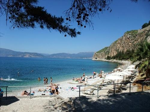 ナフプリオのビーチ (2)