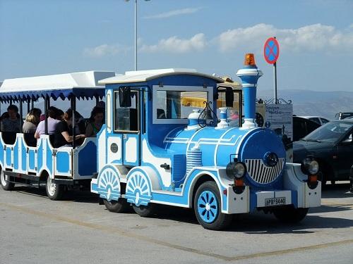 ナフプリオの観光列車