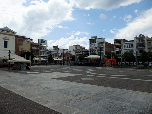 スパルタ_ケンドリキ広場