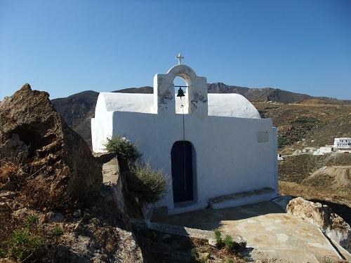 ホラの高台の教会