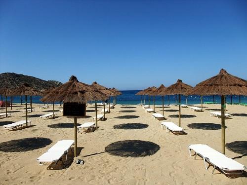 イオス_ミロポタスのビーチ