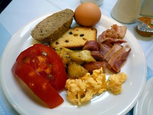 シプリア・ホテルの朝食