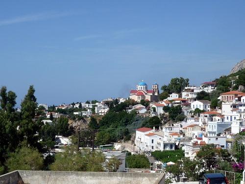 イカリア_アギオス・キリコスの街
