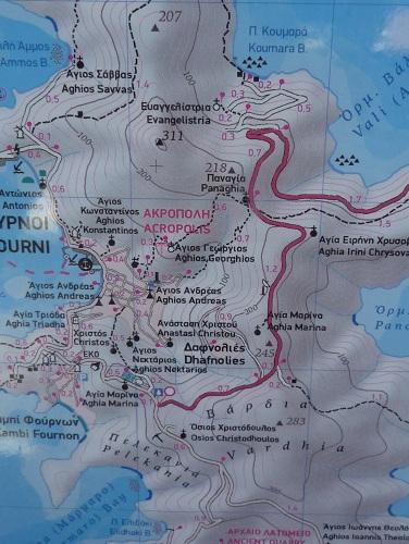 フルニの地図