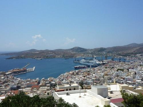 シロス_アナスタシス教会からの眺め