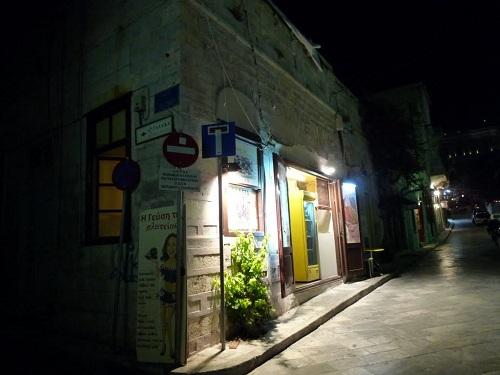 シロス_ミアウリ広場のギロ屋さん