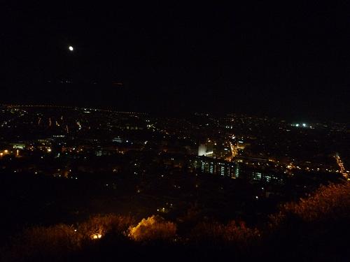 リカビトスから見たアテネの街