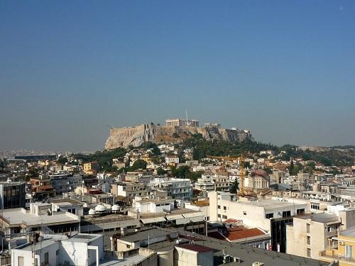 アテネ_AstorHotelからの眺め