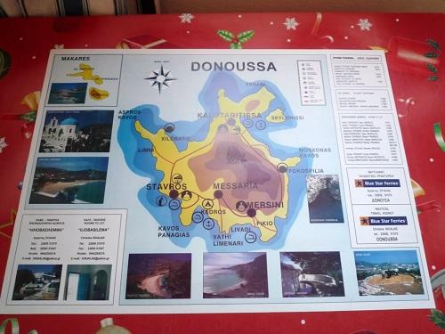ドヌサの地図