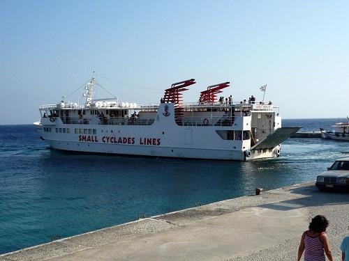 ドヌサ_リトル・キクラデスを周る船