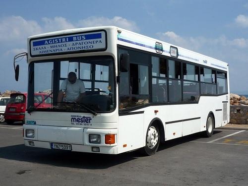 アギストリのバス