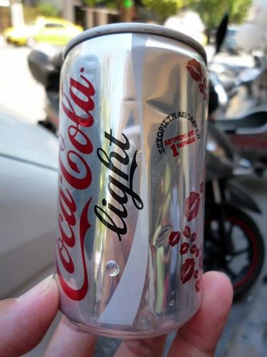 アテネ_コカ・コーラのキャンペーン中 (2)