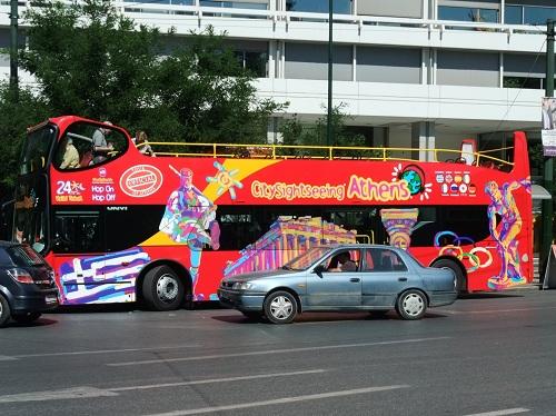 アテネ_サイト・シーイング・バス
