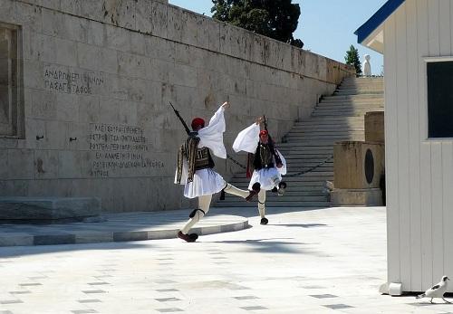 アテネ_無名戦士の墓 (2)