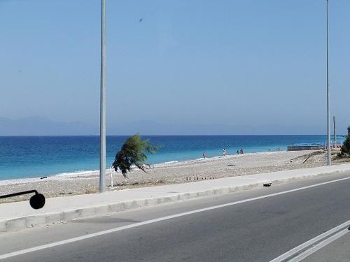 ロドスのビーチ