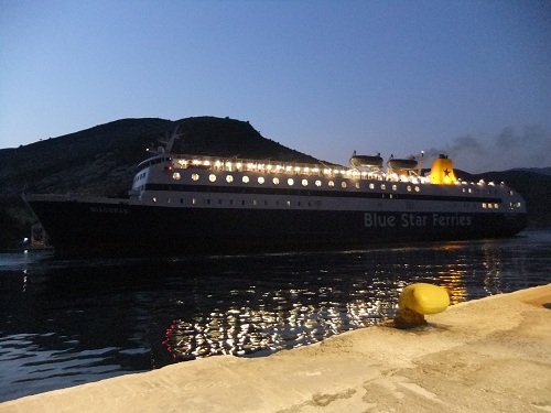 カステロリゾ_船でニシロスへ