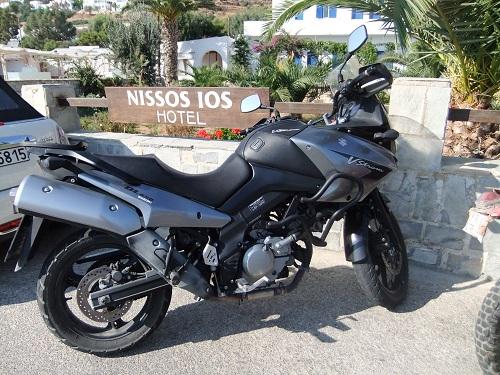 イオス_イケメンポリスのバイク