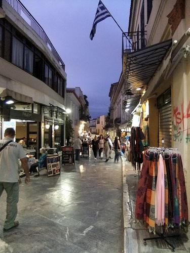 アテネ_プラカで (2)