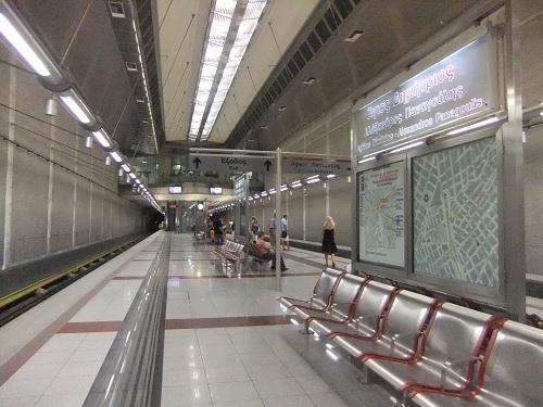 アテネ_アギオス・ディミトリオス駅