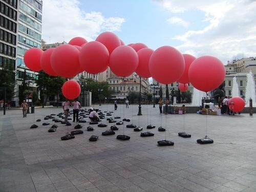 アテネ_コジア広場で