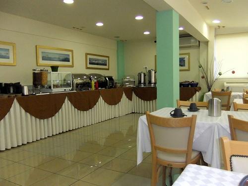 ピレウス_「Piraeus Dream Hotel」朝食ルーム
