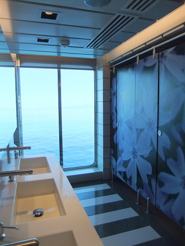 BlueStarのキレイなトイレ