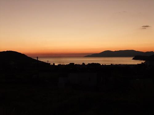 イオスの夕焼け